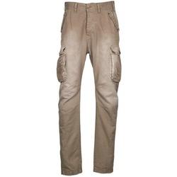 衣服 男士 工装裤 Freeman T.Porter PUNACHO COTTON GAB CHOCOLATE CHIP 棕色 / 米色