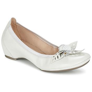 鞋子 女士 平底鞋 Hispanitas VALENCE 白色