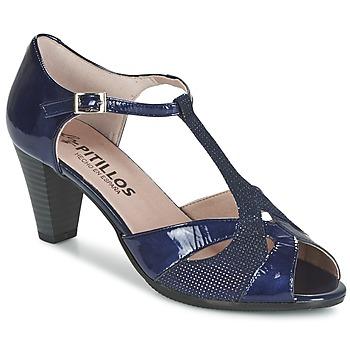 鞋子 女士 凉鞋 Pitillos MARILOU 海蓝色