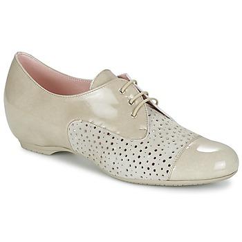 鞋子 女士 德比 Pitillos CLETTE 浅米色