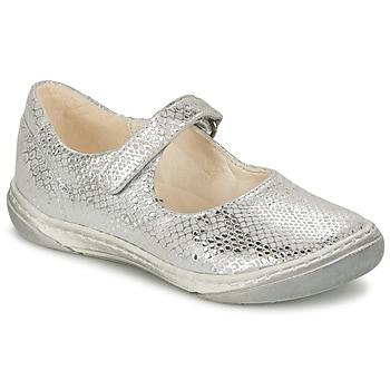 鞋子 女孩 平底鞋 SHOO POM by Pom d'Api MILA BABY 银色