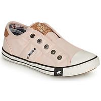 鞋子 女孩 球鞋基本款 Mustang SHAYAN 玫瑰色