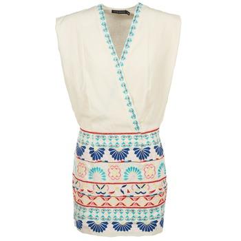 衣服 女士 短裙 Antik Batik POLIN 白色 / 多彩
