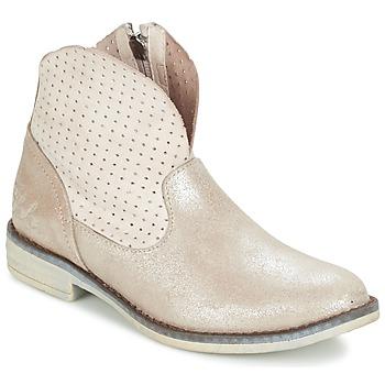 鞋子 女孩 短筒靴 Ikks CINDY 银色