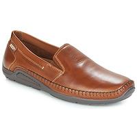 鞋子 男士 皮便鞋 Pikolinos 派高雁 AZORES 棕色
