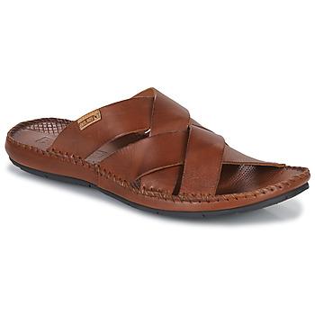鞋子 男士 休闲凉拖/沙滩鞋 Pikolinos 派高雁 TARIFA 棕色