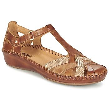 鞋子 女士 凉鞋 Pikolinos 派高雁 PUERTO VALLARTA 655 驼色
