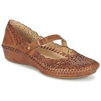 鞋子 女士 平底鞋 Pikolinos 派高雁 PUERTO VALLARTA 655 驼色
