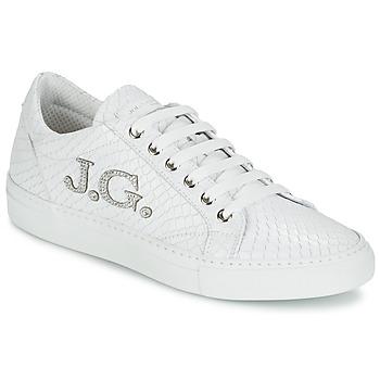 鞋子 女士 球鞋基本款 John Galliano 7977 白色