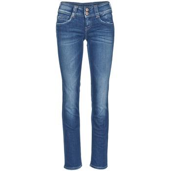 衣服 女士 直筒牛仔裤 Pepe jeans GEN 蓝色 / D45