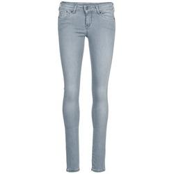 衣服 女士 紧身牛仔裤 Pepe jeans PIXIE 灰色 / Q81