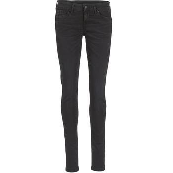衣服 女士 紧身牛仔裤 Pepe jeans SOHO S98 / 黑色