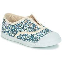 鞋子 女孩 球鞋基本款 Citrouille et Compagnie RIVIALELLE 蓝色 / 多彩