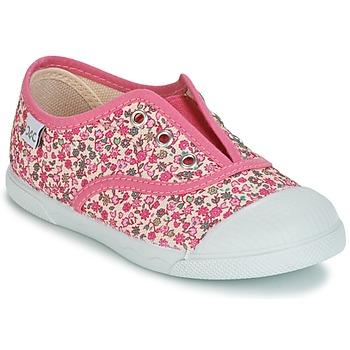 鞋子 女孩 球鞋基本款 Citrouille et Compagnie RIVIALELLE 玫瑰色 / 多彩