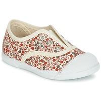 鞋子 女孩 球鞋基本款 Citrouille et Compagnie RIVIALELLE 浅米色 / 多彩