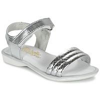 鞋子 女孩 凉鞋 Citrouille et Compagnie GOSAGOLA 银色