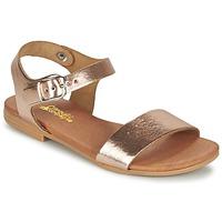 鞋子 女孩 凉鞋 Citrouille et Compagnie JOUBI 铜色