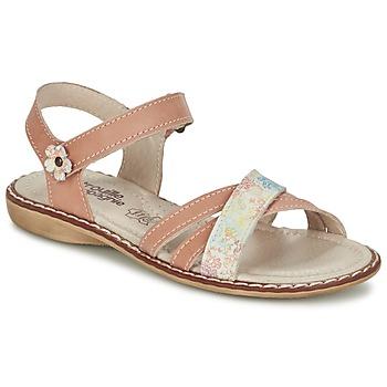 鞋子 女孩 凉鞋 Citrouille et Compagnie JANDOLI 裸色