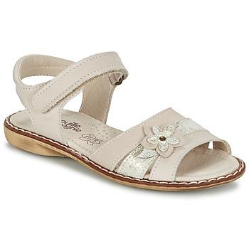 鞋子 女孩 凉鞋 Citrouille et Compagnie ANDALIA 米色