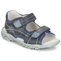 鞋子 男孩 凉鞋 Citrouille et Compagnie RAMTIGA 蓝色