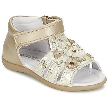 鞋子 女孩 凉鞋 Citrouille et Compagnie PAQUETI 米色