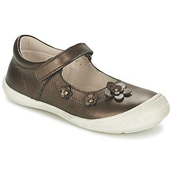 鞋子 女孩 平底鞋 Citrouille et Compagnie MELINA BIS 棕色 / Irisé