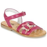 鞋子 女孩 凉鞋 Citrouille et Compagnie CHOUPINETTE 紫红色