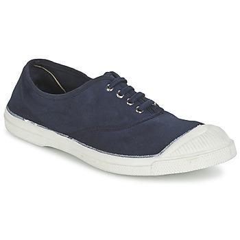 鞋子 女士 球鞋基本款 Bensimon TENNIS LACET 海藍色