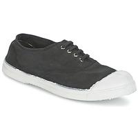 鞋子 女士 球鞋基本款 Bensimon TENNIS LACET 煤黑色