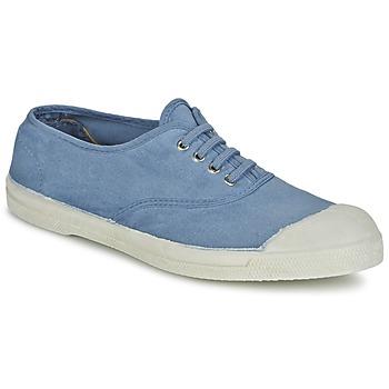 鞋子 女士 球鞋基本款 Bensimon TENNIS LACET 蓝色