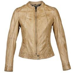 衣服 女士 皮夹克/ 人造皮革夹克 Oakwood 61712 棕色