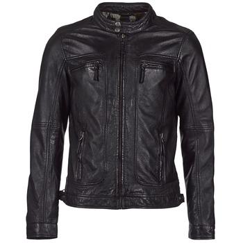 衣服 男士 皮夹克/ 人造皮革夹克 Oakwood CASEY 黑色