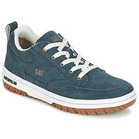 鞋子 男士 球鞋基本款 Caterpillar DECADE SUEDE 蓝色 / Nuit