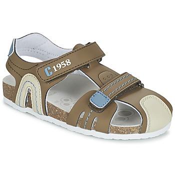 鞋子 男孩 凉鞋 Chicco HONEY 棕色