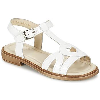 鞋子 女孩 凉鞋 Aster TCHANIA 白色
