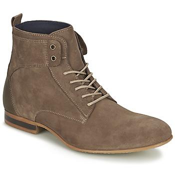鞋子 男士 短筒靴 Carlington 卡尔顿 ESTANO 灰褐色