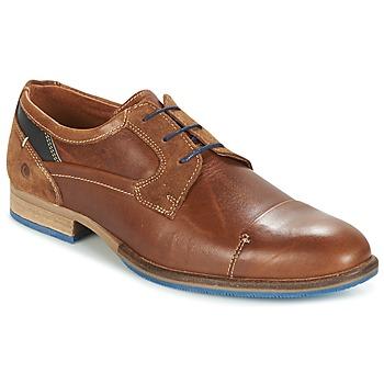 鞋子 男士 德比 Carlington 卡尔顿 ENDRI 驼色