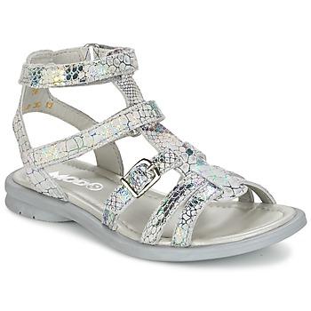 鞋子 女孩 凉鞋 Mod'8 JUJU 银色