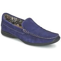 鞋子 男士 皮便鞋 So Size ELIJA 藍色