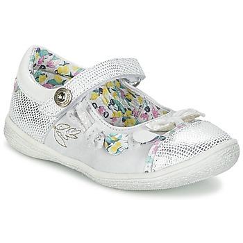 鞋子 女孩 平底鞋 Catimini COLIBRI 银色
