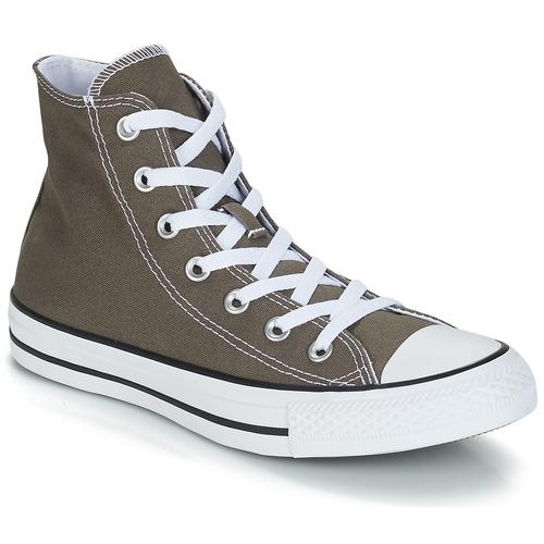 鞋子 高帮鞋 Converse 匡威 CHUCK TAYLOR ALL STAR SEAS HI -煤灰色