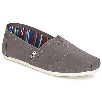 鞋子 男士 平底鞋 Toms CLASSICS 灰色