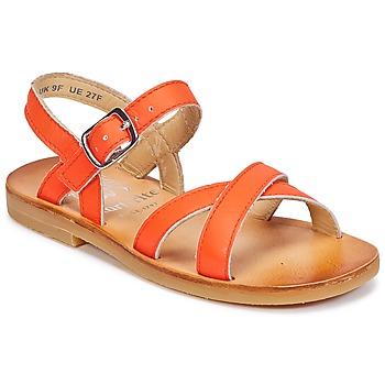 鞋子 女孩 涼鞋 Start Rite NICE II 橙色
