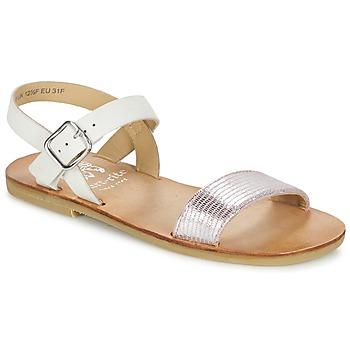 鞋子 女孩 凉鞋 Start Rite FLORA II 玫瑰色 / 白色