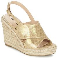 鞋子 女士 凉鞋 Elle CAMPO 米色 / 金色