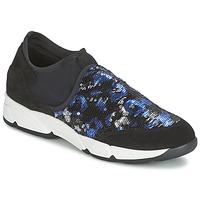 鞋子 女士 平底鞋 Meline LEO 黑色 / 藍色