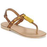鞋子 女士 凉鞋 Betty London ELOINE 棕色 / 黄色