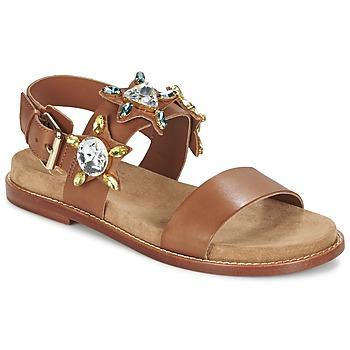 鞋子 女士 凉鞋 Ash 艾熙 MALIBU 驼色
