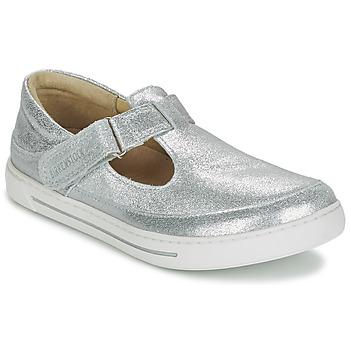 鞋子 女孩 平底鞋 Birkenstock 勃肯 ABILENE 银色