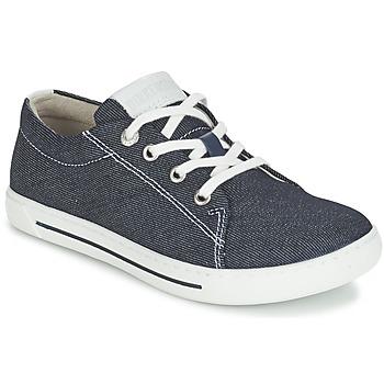 鞋子 儿童 球鞋基本款 Birkenstock 勃肯 ARRAN KIDS 蓝色